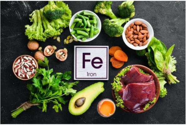 thực phẩm giàu sắt và protein
