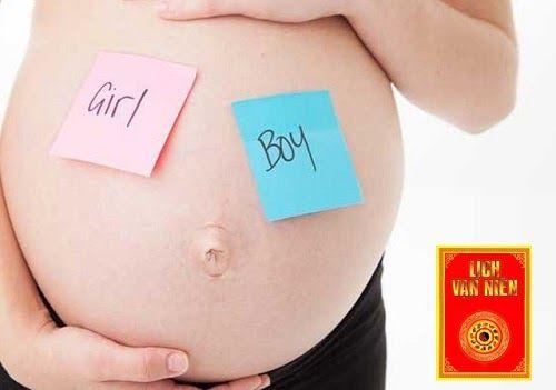 Cách dự đoán sinh trai hay gái dựa trên tuổi mẹ và bố