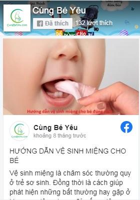 facebook cungbeyeu.com